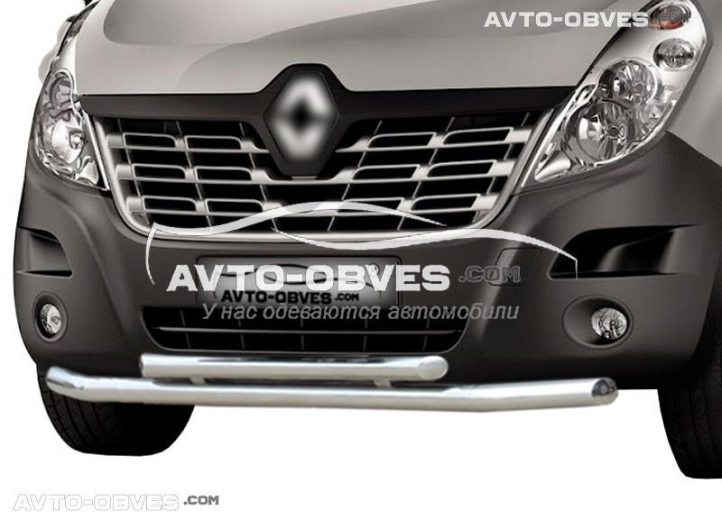 Захисна дуга подвійна для Renault Master 2010-..., вироб. Туреччина