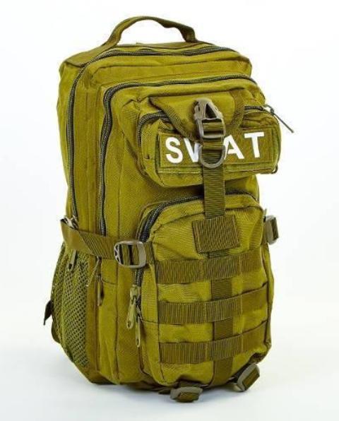 Рюкзак тактический штурмовой V-20 л SWAT-3P- О  оливковый