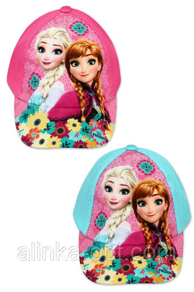 Кепка для девочек Disney оптом, 52-54 см.