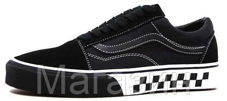 Купить Мужские кеды Vans Old Skool Black Ванс Олд Скул черные в ... 8c49b916f7b