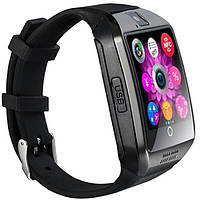 Смарт годинник Smart Watch Q18. Срібло. Silver, фото 1