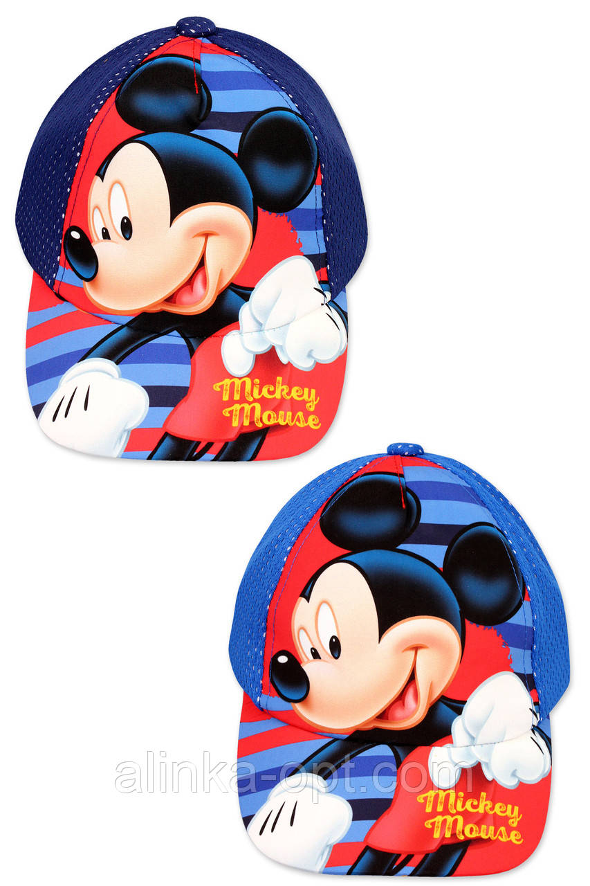 Кепка для мальчиков Disney оптом, 52-54 см.