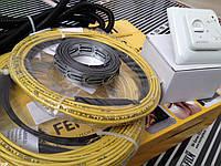 Нагревательный кабель (готовый с терморегулятором) 5.3 м.кв., фото 1