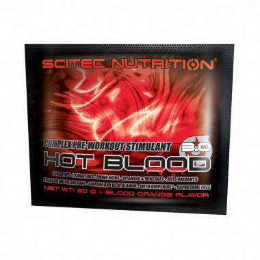 Hot Blood 3.0 Scitec Nutrition 20 g, фото 2