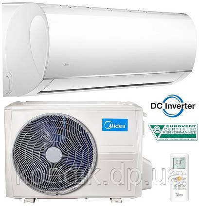 Кондиционер MIDEA MA-09H1DO-I/MA-09N1DO-O Blanc Inverter 2018, фото 2