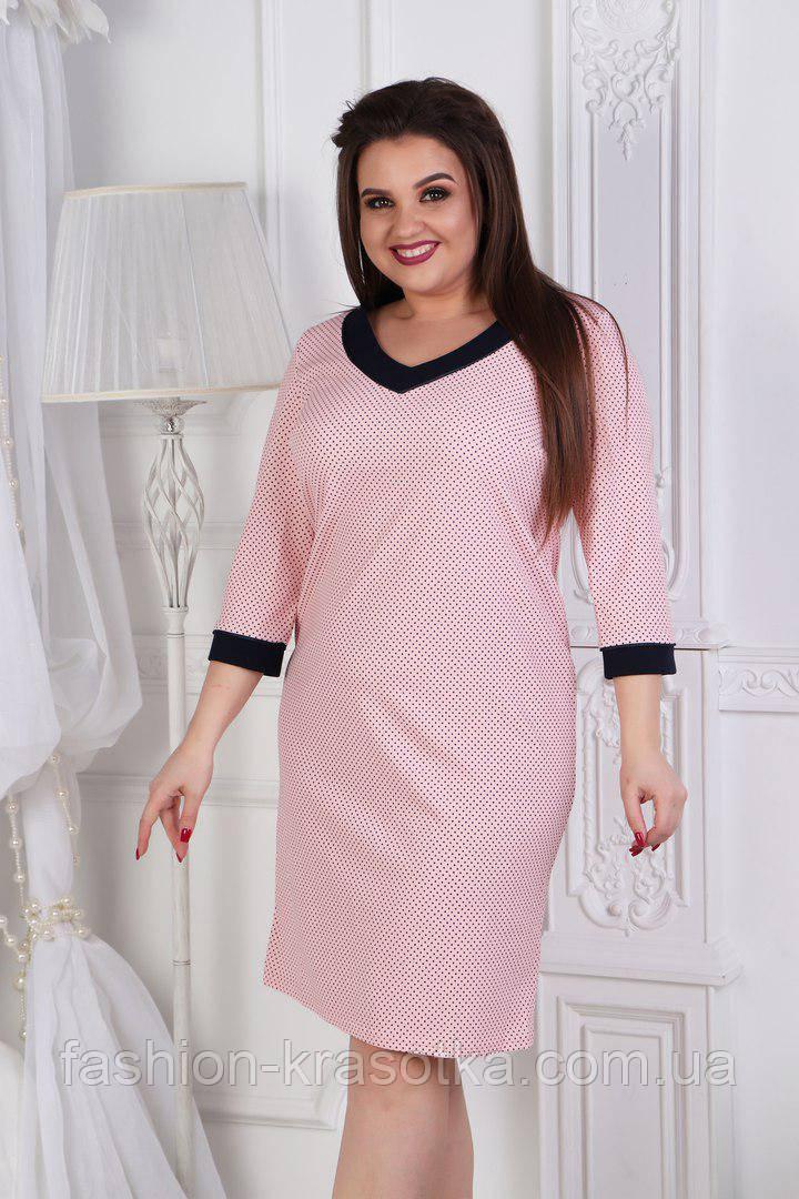Нарядное женское платье Наталья в размерах 50-56