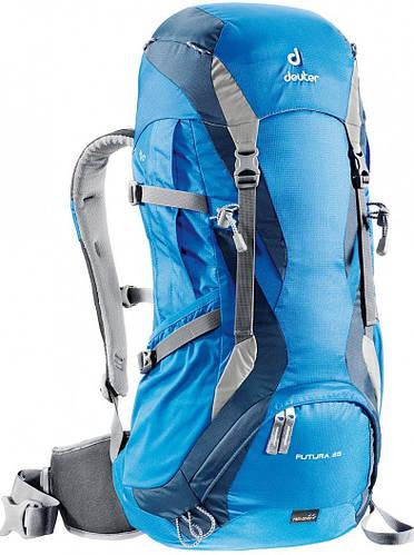Рюкзак 26+3 л. для экскурсий, хайкинга, прогулок в горы FUTURA 26 DEUTER, 34234 3033 синий
