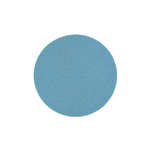 Косметический спонж синий круг QS-137