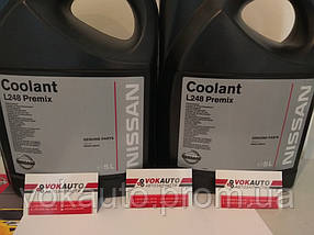 Охлаждающая жидкость Nissan Coolant L248 Premix Антифриз (Европа) (5 л.)