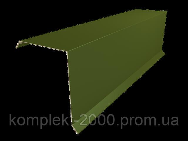 ветровая планка для металлической крыши