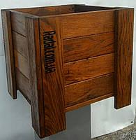 Ящик для растений 40х40, дерево  (дуб)
