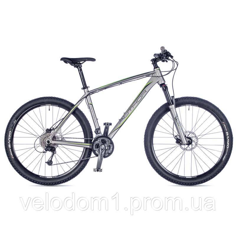 "Велосипед Author 27,5"" Traction silver 21 (2016)"