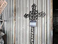 Кованый  крест надгробный арт.рт № 23, фото 1