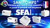 SFA SANIPOMPE - насосы и насосные станции для установки или переоборудования ванной или кухни. насосы для душевого поддона