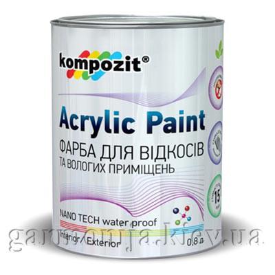 Краска для откосов Kompozit, 0.8 л