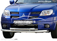 Защитная дуга двойная Mitsubishi Outlander 2003-2006 (под заказ) , пр. Турция