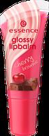 Essence фруктовый блеск для губ glossy lipbalm 03