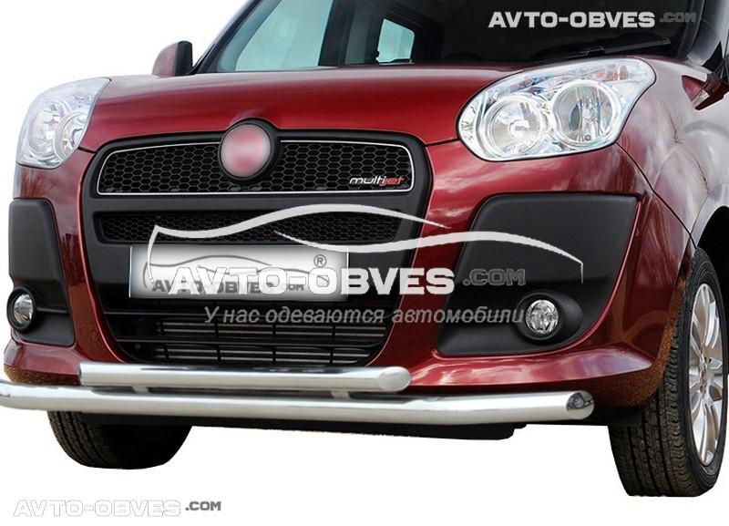 Захисна дуга подвійна для Fiat Doblo 2010-2014, вироб. Туреччина