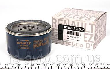 Фильтр масляный Renault Kangoo, Рено Кенго , Trafic, Opel Vivaro 1.9D, 1.5dCi, 1.4i, 1.6i (50mm) 7700274177
