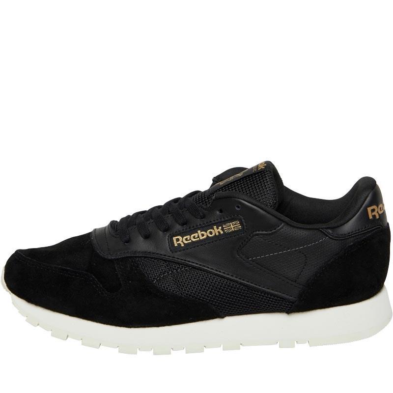 c6181d3e7006 Мужские кожаные кроссовки Reebok Classics Mens Classic Leather ALR. Артикул    BS5243 черные оригинал