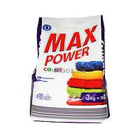 Стиральный порошок Max Power Color 3 кг (5997467110555)