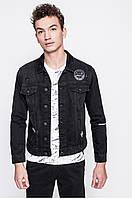 Мужская джинсовая куртка Only Sons черная