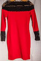 Женское платье с гипюром, фото 1