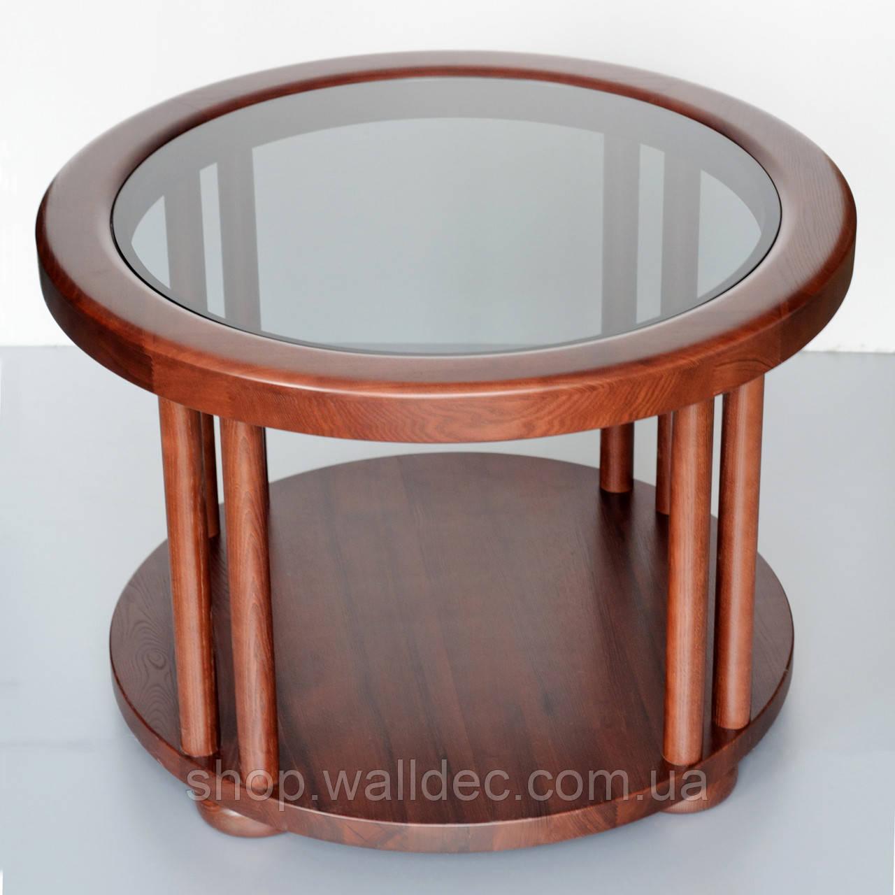 Круглый стол из ясеня