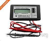 ИЗМЕРИТЕЛЬ ЕМКОСТИ И ESR электролитических конденсаторов ESR-micro v4.2