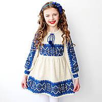 Вязаное платье для девочки , фото 1