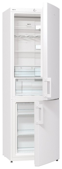 Двухкамерный холодильник Gorenje NRK6191GW