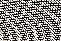 Решітка декоративна чорна 1*020 №2 картон