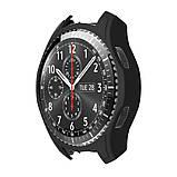 Силиконовый защитный корпус Primo для часов Samsung Gear S3 Frontier (SM-R760) - Black, фото 2