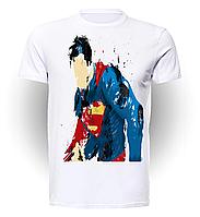 Футболка мужская размер L GeekLand Супермен SupermanАкварельный Супермен SU.01.047