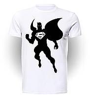 Футболка мужская размер L GeekLand Супермен SupermanBW Silhouette Superman SU.01.025