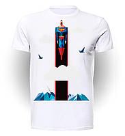 Футболка мужская размер L GeekLand Супермен Superman DC comics SU.01.003