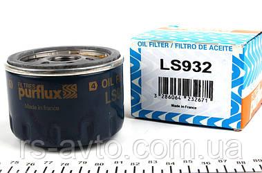 Фильтр масляный Renault Kangoo, Рено Кенго , Trafic, Opel Vivaro 1.9D, 1.5dCi, 1.4i, 1.6i (низкий) LS932