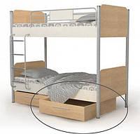 Кровать двухъярусная М-12 Mega + ящики выдвижные М-15-12