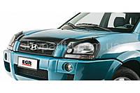 Hyundai TUCSON 2004-2012 защита фар карбон