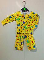 Пижама байковая 92-122 см
