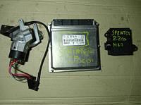 Блок управления двигателем комплект ( ЭБУ )MercedesSprinter 2.2cdi2000-2006Bosch 0281010616, A6111536279