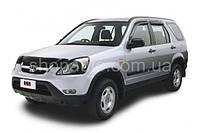Honda CRV 2002-2004 защита фар карбон
