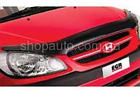 Hyundai Getz 2005-2008 защита фар карбон