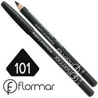 Карандаш для глаз Flormar (черный) № 101