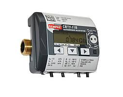 SEMPAL СВТУ-11В RP DN40 счетчик воды ультразвуковой с автономным питанием.