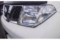 Nissan Pathfinder 2005-2009 защита фар карбон