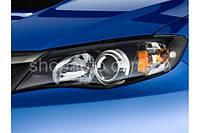 Subaru Impreza 2006-2007 защита фар прозрачная