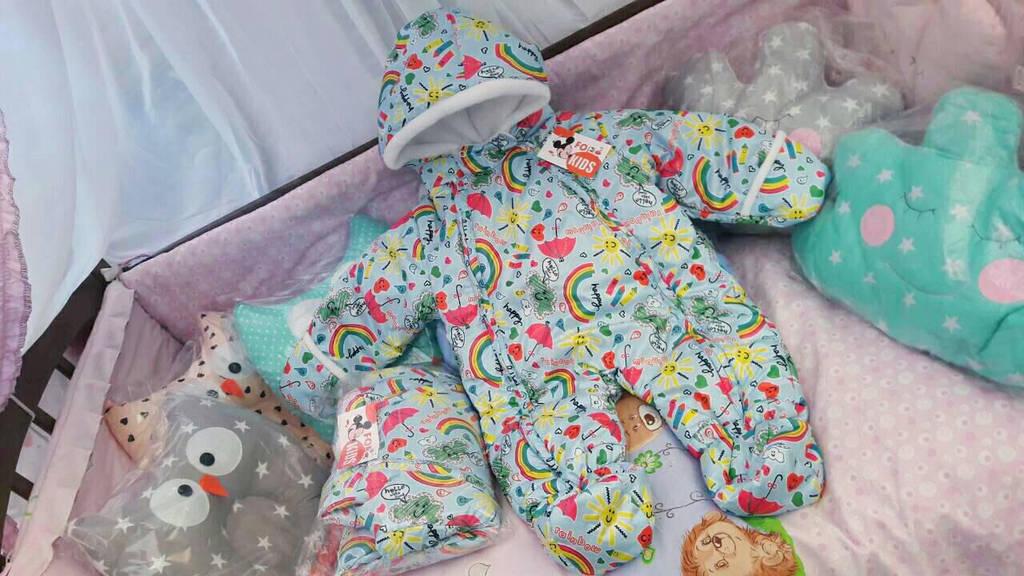Комбинезон демисезонный для новорожденных