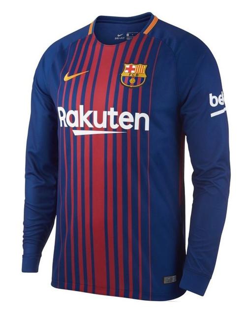 Футбольная форма с длинным рукавом