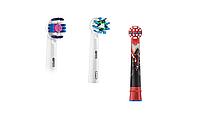 Насадки для зубной щетки ORAL-B 3 шт. (3D-White, Cross Action , Детская)